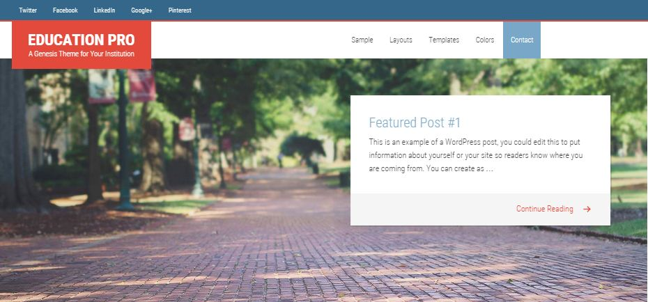 Education WordPress Themes 3