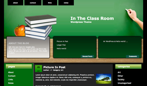 education WordPress Themes-featured