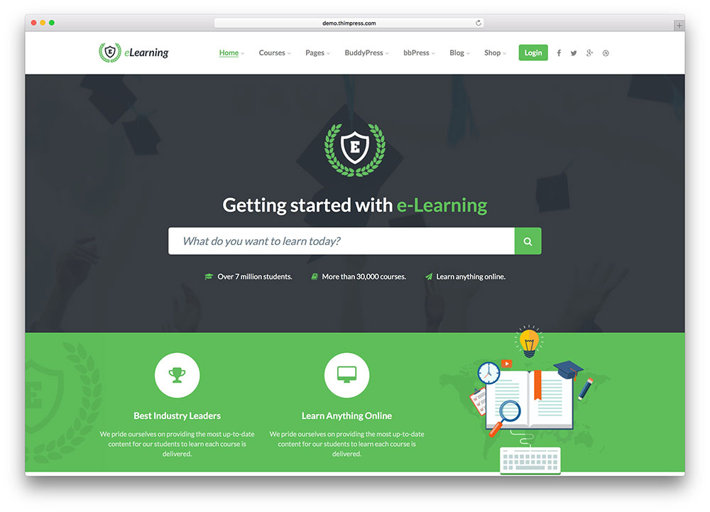 education WordPress theme 6