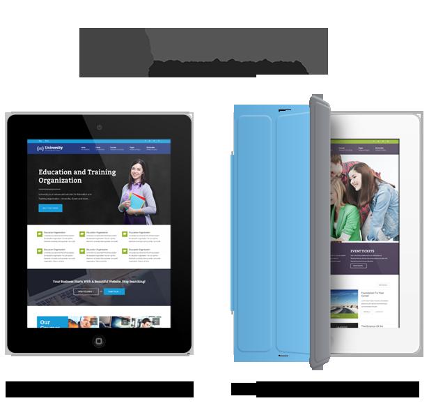 university theme WordPress 3