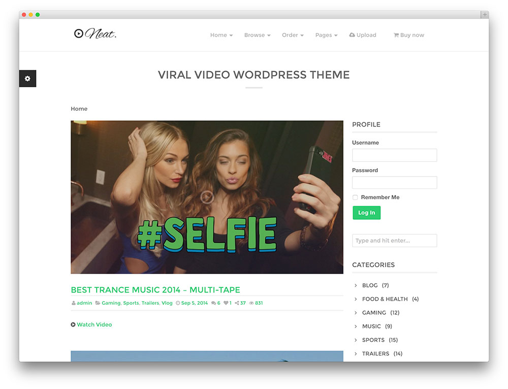 Best WordPress themes for video 3