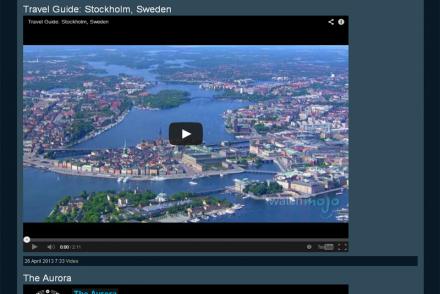 screenshot best WordPress themes for video