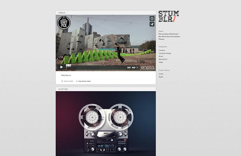 video theme WordPress 2015 3