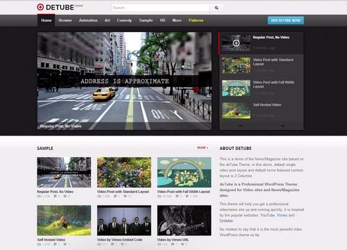 wordpress theme for videos 2