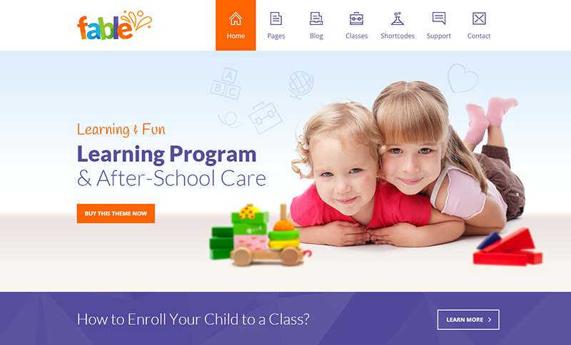 Education WordPress themes 2