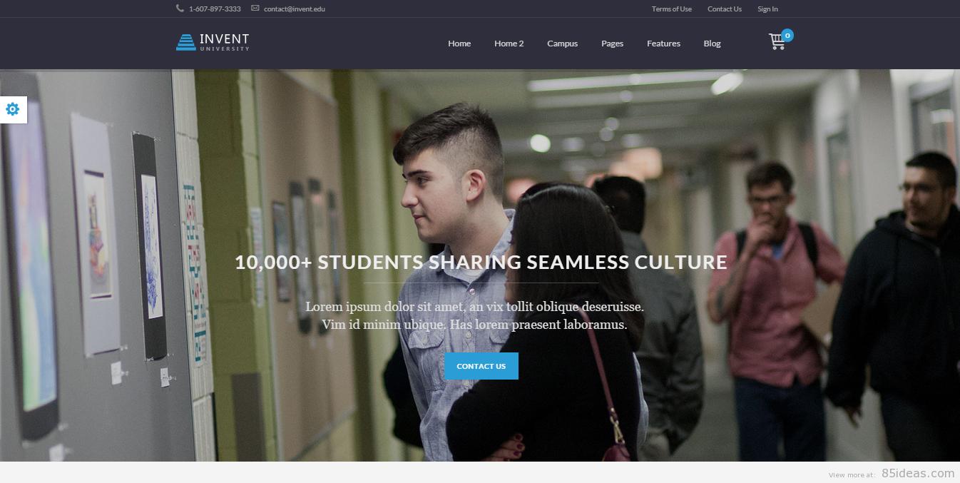 WordPress Education Theme 1