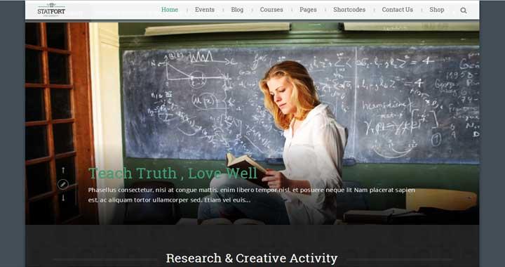 WordPress Education Theme 4