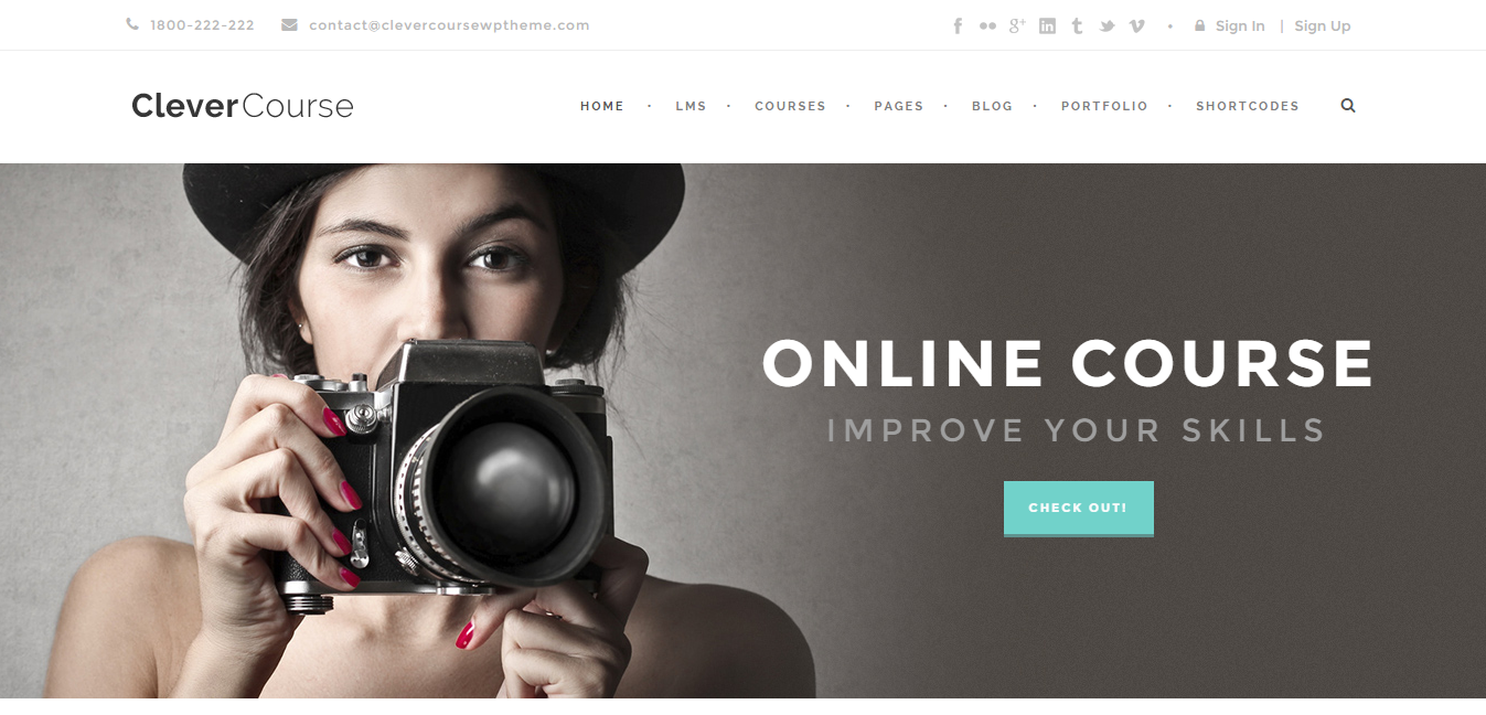 WordPress Education Theme 5