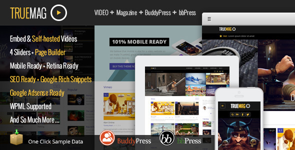 WordPress theme for videos 1