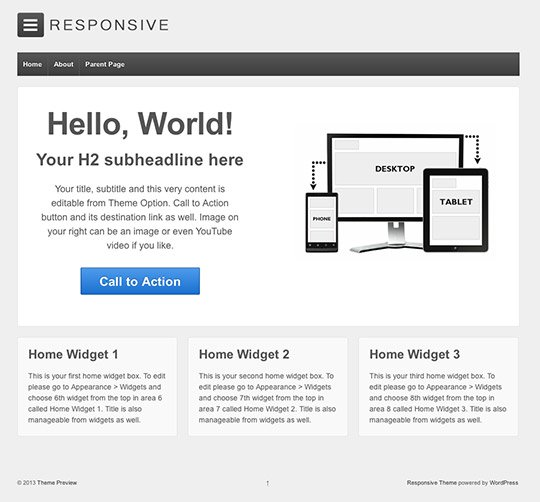 WordPress theme for videos
