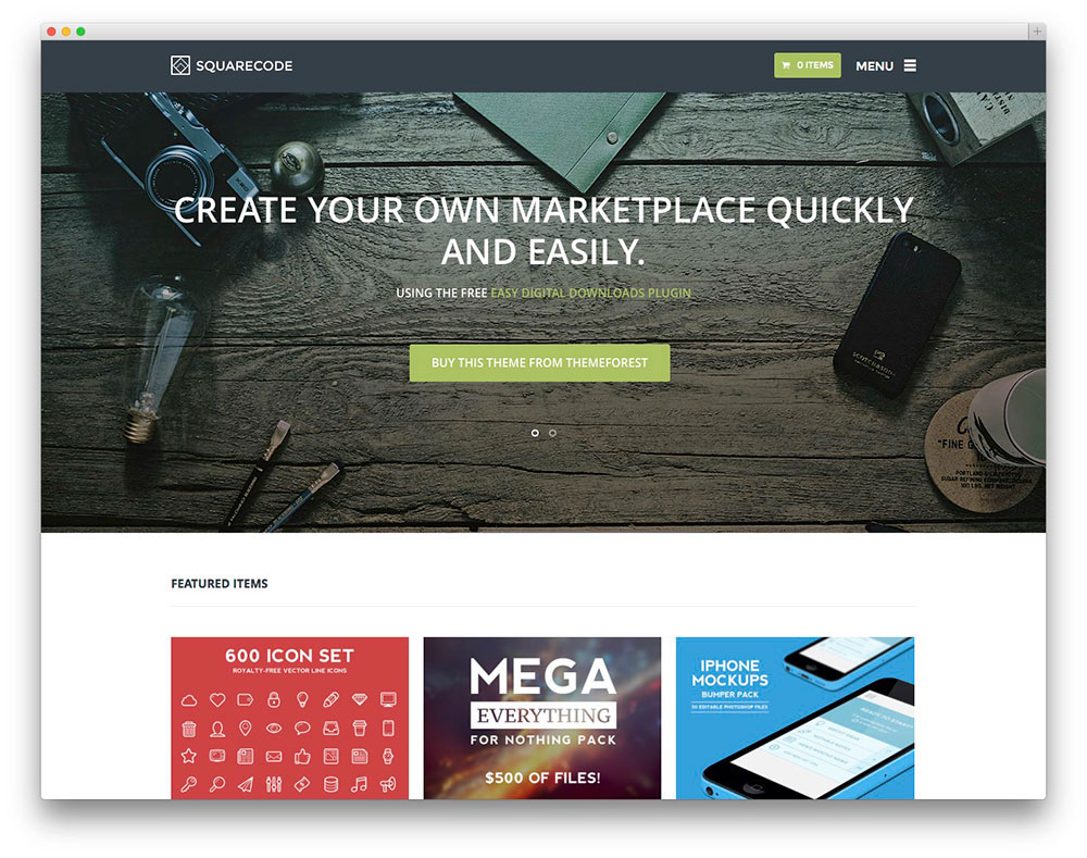 WordPress Video Blog Themes For Selling Multimedia Products - Buy wordpress templates