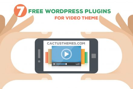 Free Wordpress plugins for video theme