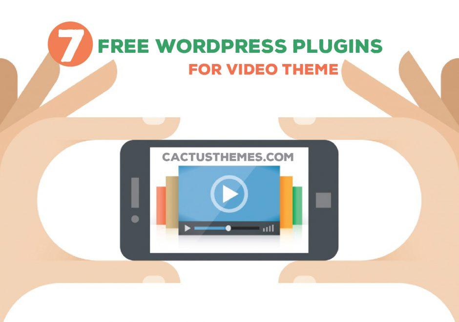 Free Wordpress plugins for video theme