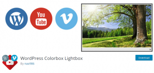 WordPress Colorbox Lightbox