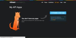 Vimeo Creat App