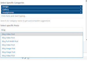 Autocomplete in Felis Content Slider 2 Shortcode