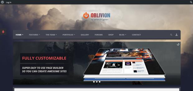 oblivion game theme