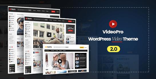 Cool responsive blog, magazine & video WordPress themes